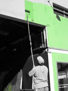 pintura y decoracion de exteriores en Linares Jaén
